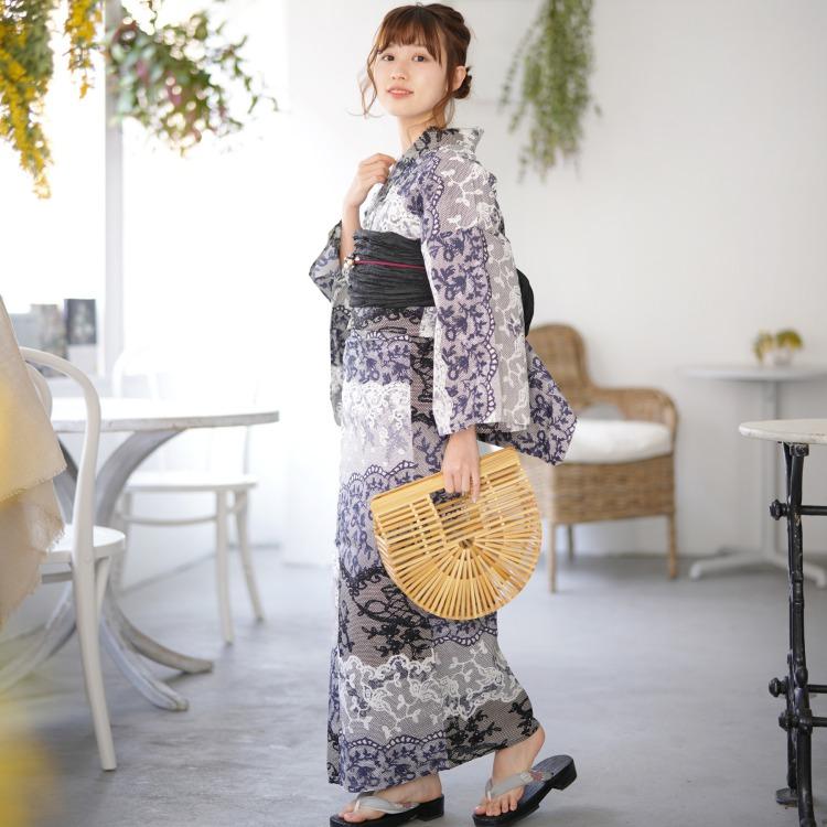 2021 ニコアンティーク×モダンアンテナ【新作浴衣】#159711(写真3)