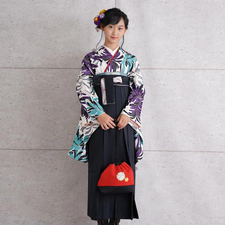 ジュニア 2尺袖・袴セット レンタル