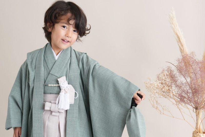 753-男の子-5歳着物(羽織袴セット)新商品