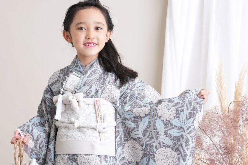 753-女の子-7歳着物 新商品
