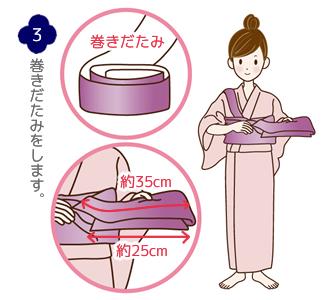 帯結び(蝶)手順3