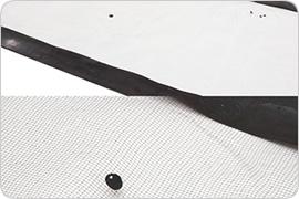 伊勢注染型紙 インコ柄の型紙・2枚目